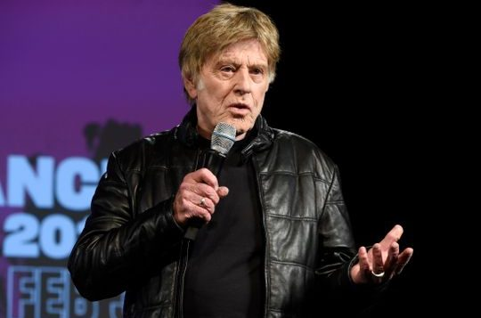 Robert Redford says he's stepping back as the face of Sundance Film Festival.