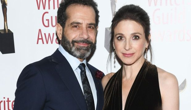 Tony Shalhoub and Marin Hinkle