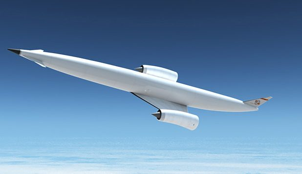 "The hypersonic ""spaceplane."""