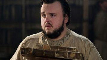 "Sam Tarly in ""Game of Thrones"""